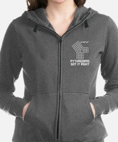 Pythagoras Got It Right Women's Zip Hoodie