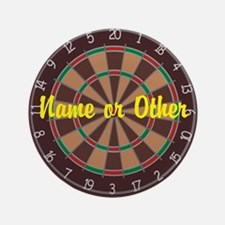 """Personalized Darts Player 3.5"""" Button"""