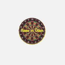 Personalized Darts Player Mini Button