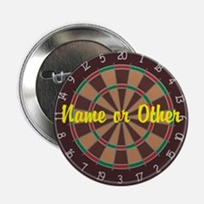 "Personalized Darts Player 2.25"" Button"