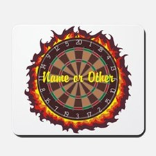 Personalized Darts Player Mousepad