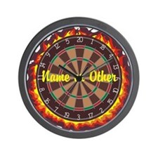 Personalized Darts Player Wall Clock