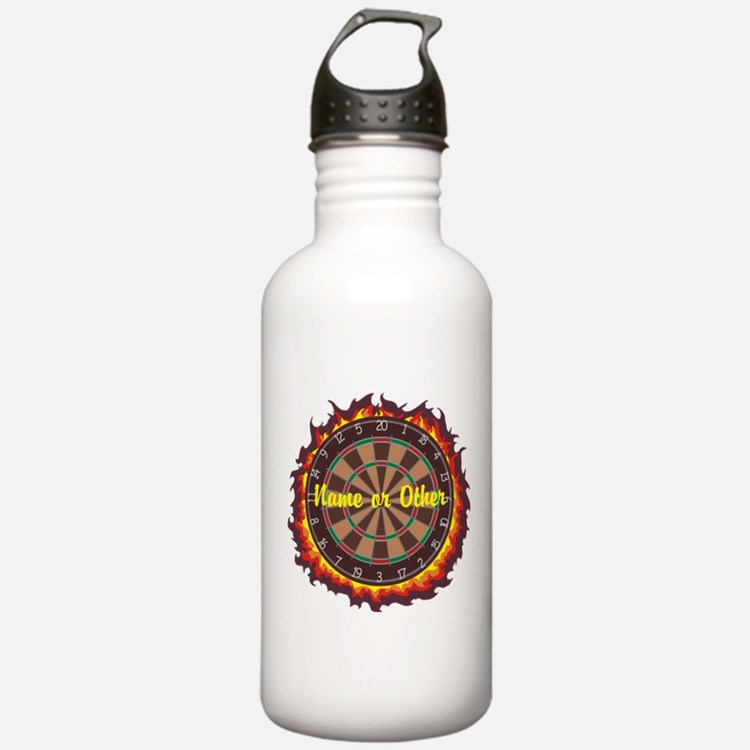Personalized Darts Player Water Bottle