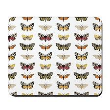 Vintage Butterflies Mousepad
