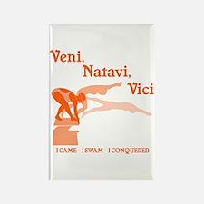 VENI-NATAVI-VICI Rectangle Magnet