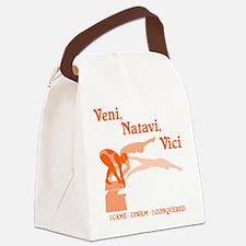VENI-NATAVI-VICI Canvas Lunch Bag