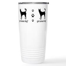 Cute Canaan dog Travel Mug