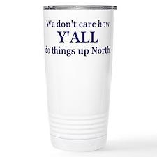 Unique Mess with texas Travel Mug