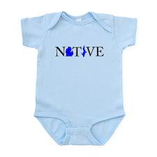 Unique Up north Infant Bodysuit