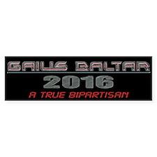 Gaius For President Bumper Bumper Sticker
