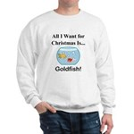 Christmas Goldfish Sweatshirt