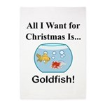 Christmas Goldfish 5'x7'Area Rug