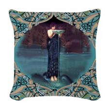 The Oracle Woven Throw Pillow