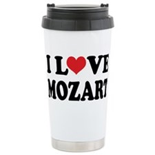 Cute Mozart Travel Mug
