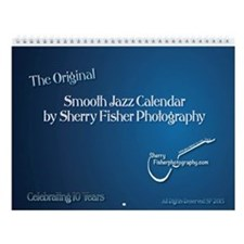 Smooth Jazz Ver, 15 Wall Calendar