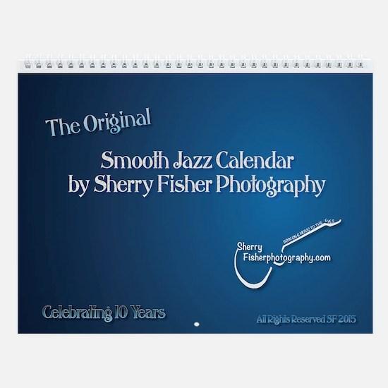 Smooth Jazz Ver, 15 Wall Calendar