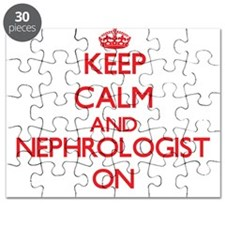 Keep Calm and Nephrologist ON Puzzle