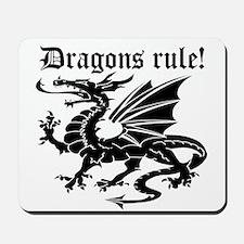Dragons rule Mousepad