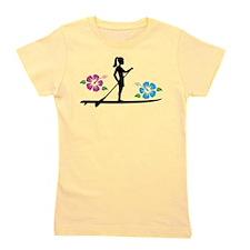 Paddleboarding girl Girl's Tee