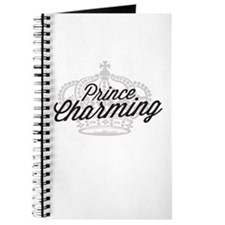 Prince Charming with Crown Journal