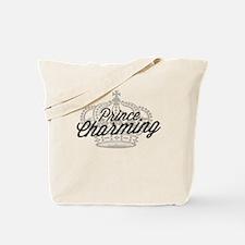 Prince Charming with Crown Tote Bag