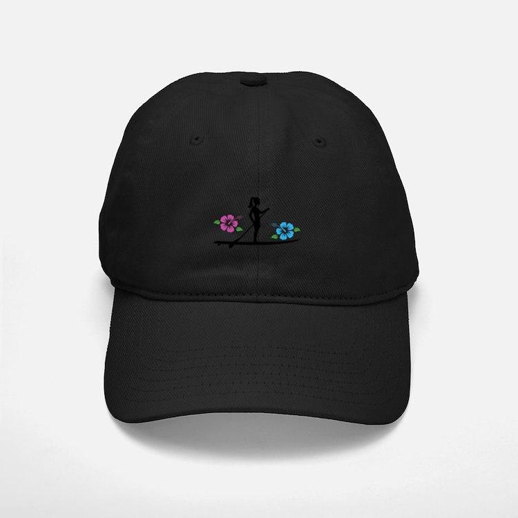 Paddleboarding girl Baseball Hat