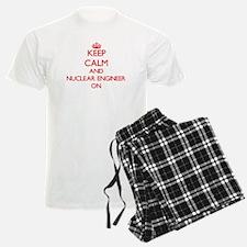 Keep Calm and Nuclear Enginee Pajamas