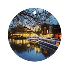 Camden at Night Ornament (Round)