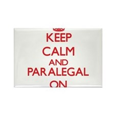 Keep Calm and Paralegal ON Magnets