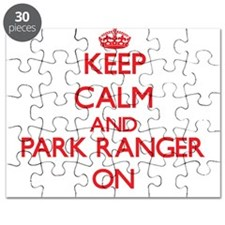 Keep Calm and Park Ranger ON Puzzle