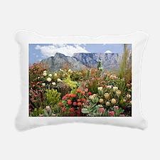 South African flower dis Rectangular Canvas Pillow