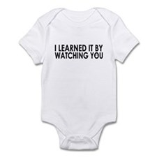 I learned it by watching you Onesie