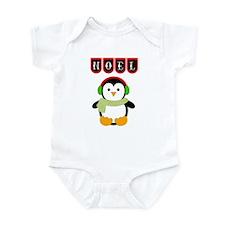 Christmas Penguin Baby Onesie Body Suit