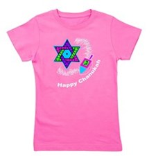 Funny Hanukkah Girl's Tee