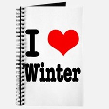 I Heart (Love) Winter Journal