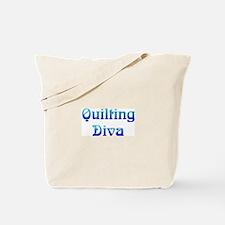 DivaQuilting.jpg Tote Bag