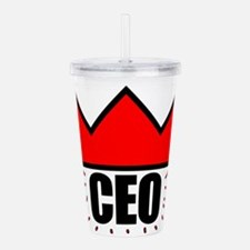CEO Red Crown II Acrylic Double-wall Tumbler