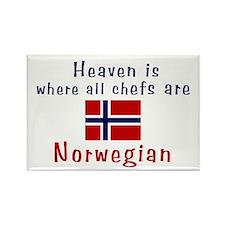 Norwegian Chefs Rectangle Magnet