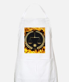 Flaming Justice Apron