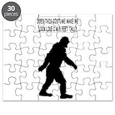 Bigfoot Silhoutte With Speech Bubble Puzzle