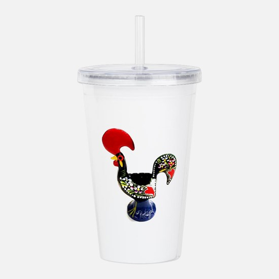 Portugal Rooster Lenda Acrylic Double-wall Tumbler