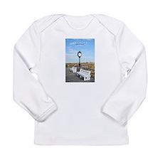Bethany Beach Delaware. Infant Long Sleeve T-Shirt
