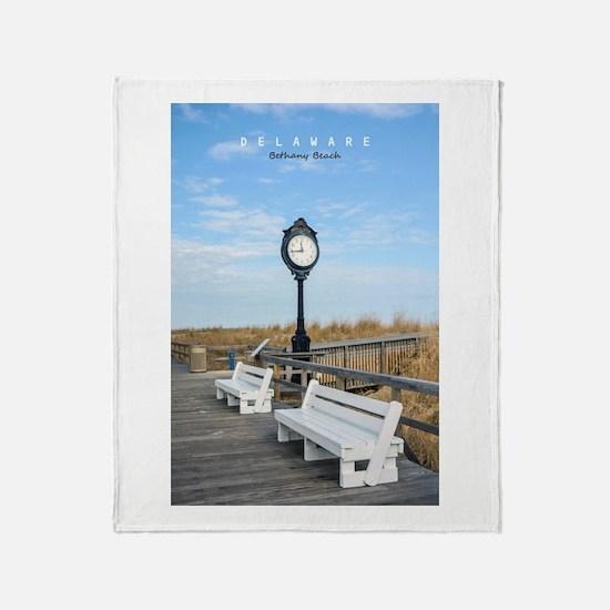 Bethany Beach Delaware. Throw Blanket