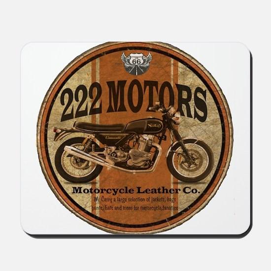 222 Motors - British Style Mousepad