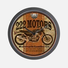222 Motors - British Style Wall Clock