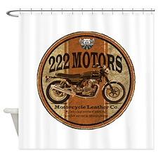 222 Motors - British Style Shower Curtain