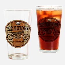 222 Motors - British Style Drinking Glass