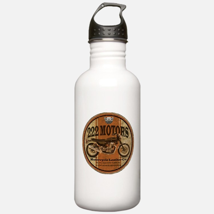 222 Motors - British Style Sports Water Bottle