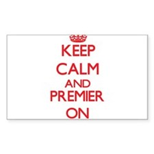 Keep Calm and Premier ON Decal