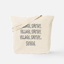 Village Smithy Silver Tote Bag